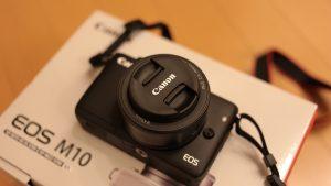 Canon EOS M10を買ってみた